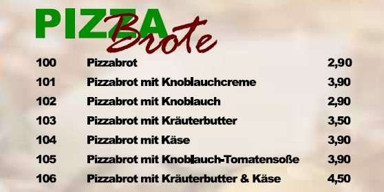 Pizzabrot