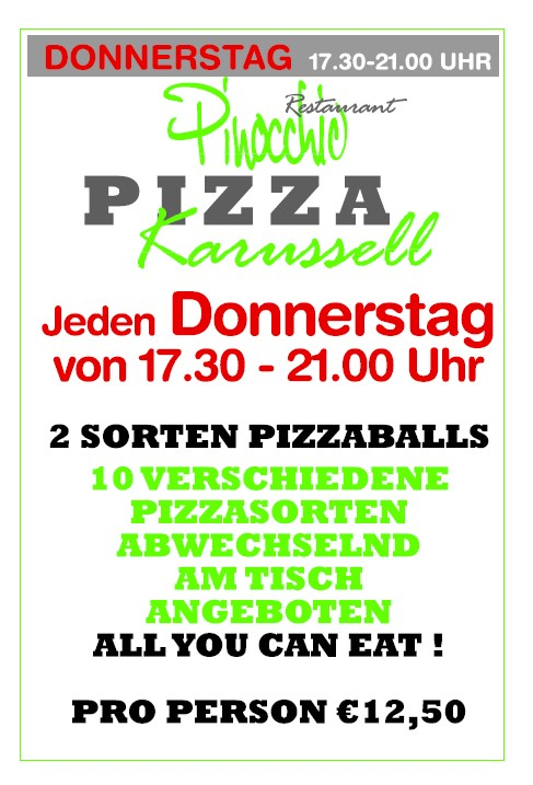 Pizza-Karussel
